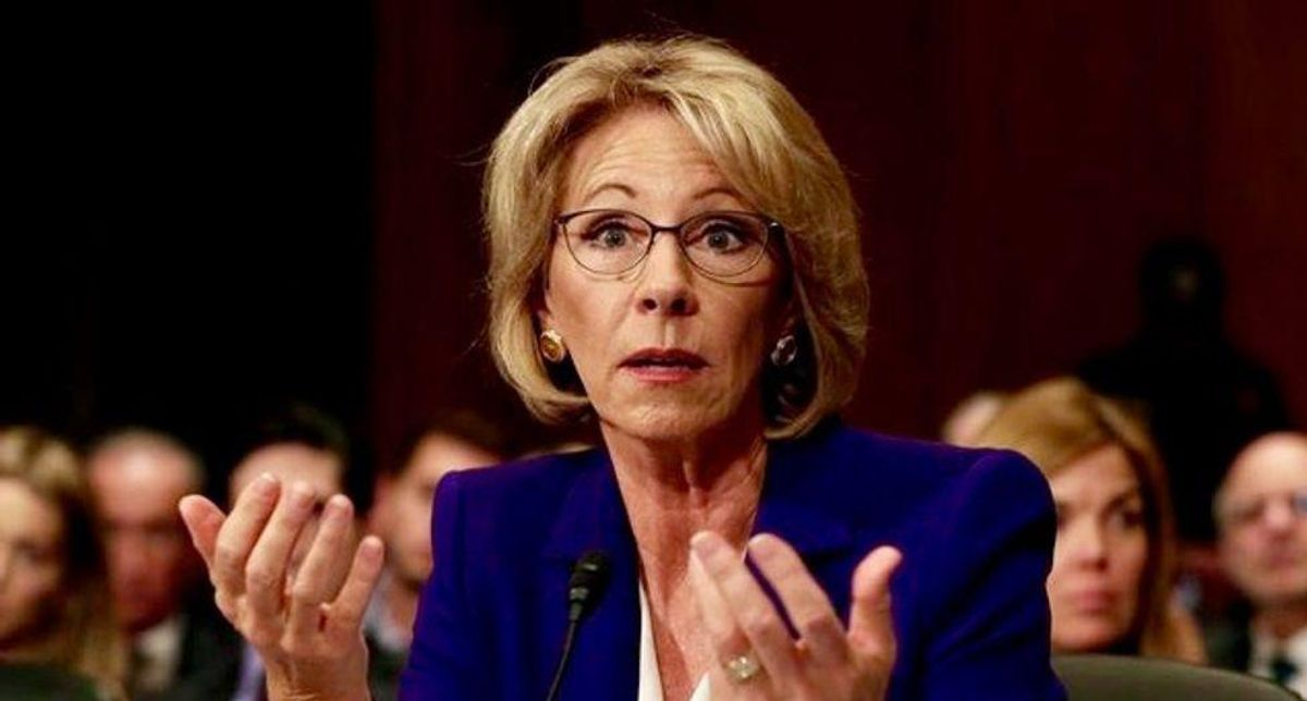 Betsy DeVos's hand-picked Wisconsin state school superintendent candidate loses
