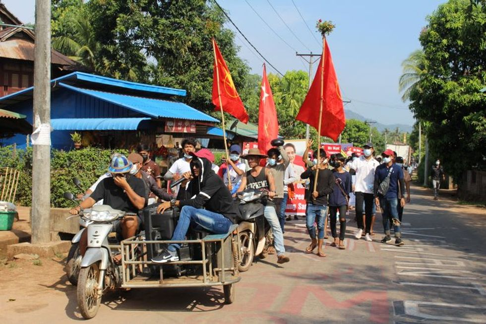 Bloodshed in Myanmar as troops open fire on protesters