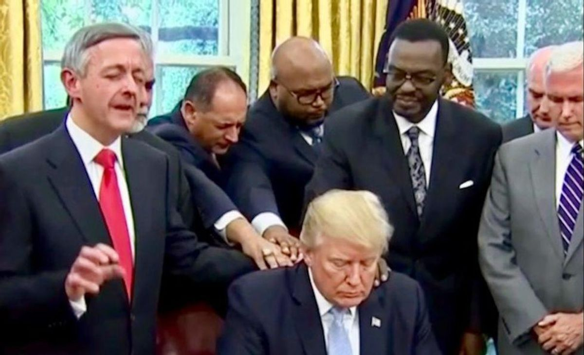 Republicans and Trump have thrown evangelical Christianity into a full-blown crisis
