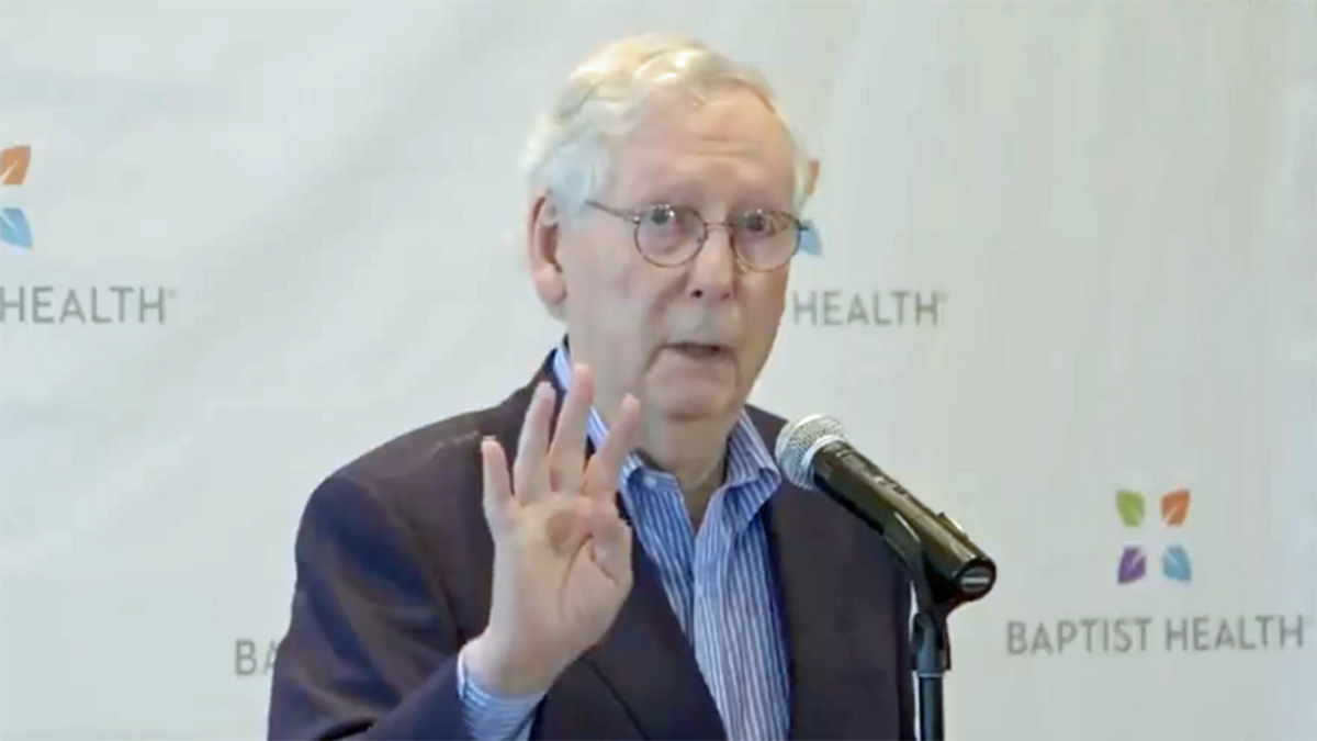 McConnell flip-flops — GOP leader is now back to saying corporations can participate in politics