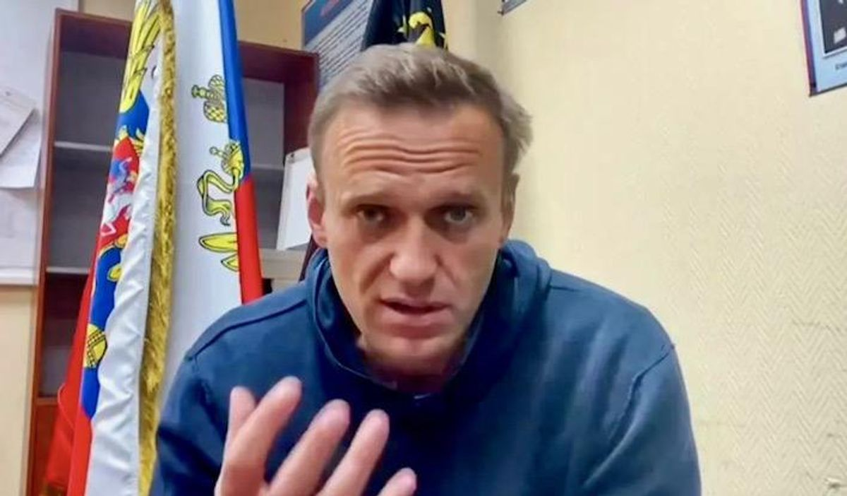 Jailed Alexei Navalny losing sensation in hands: lawyer