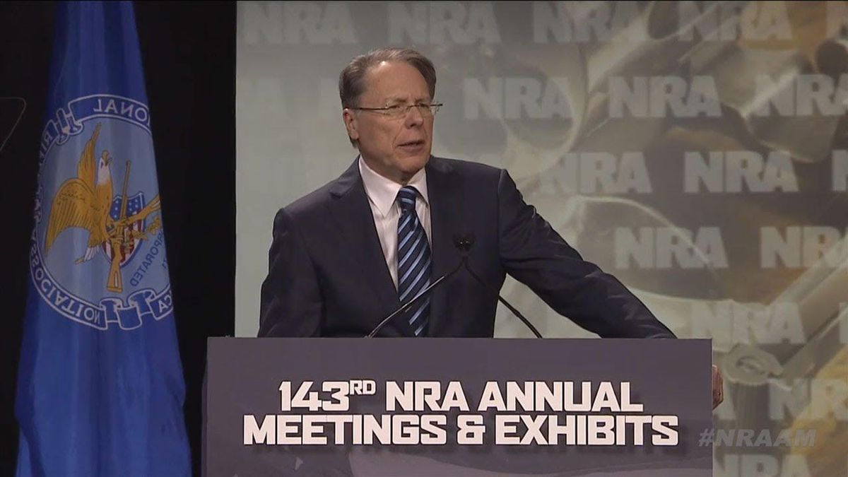 NRA president admits he didn't tell the board about bankruptcy or his pricey yacht trips on the org's dime