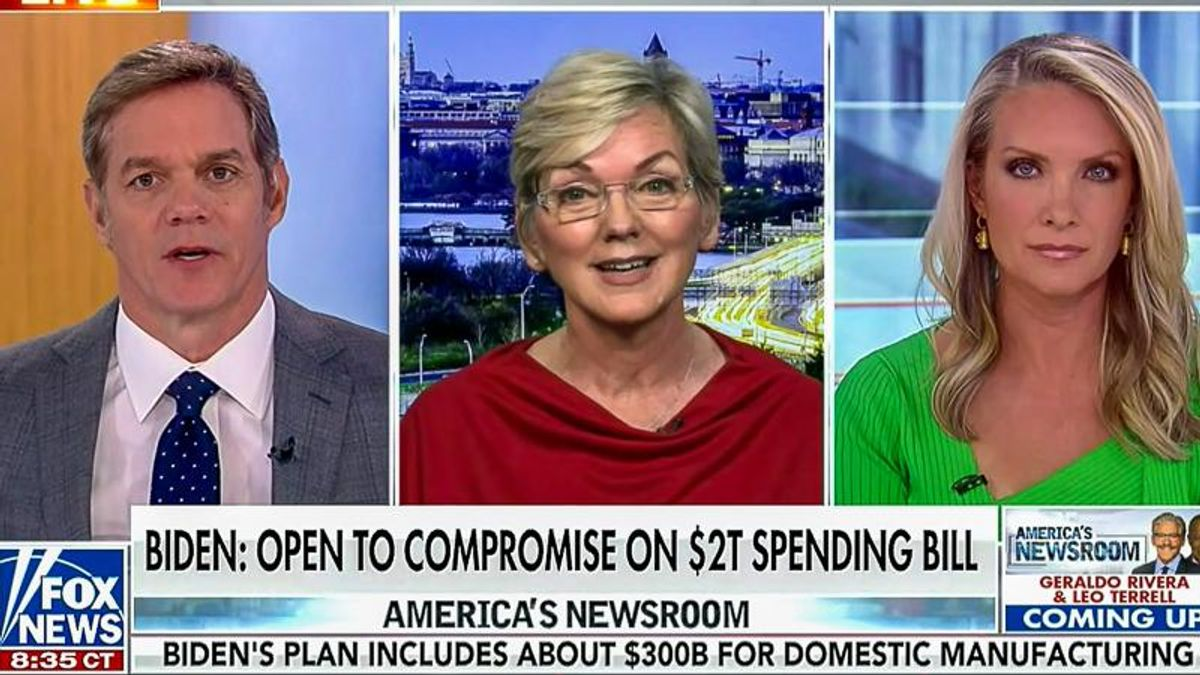 'This is the perfect question': Jennifer Granholm flips the script as Fox News grills her on infrastructure
