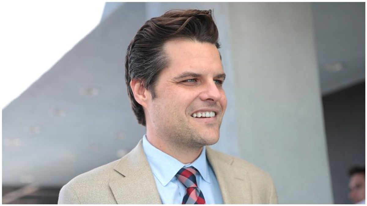 Brutal billboard targeting Matt Gaetz pops up in Florida as he continues to deny sex crime accusations