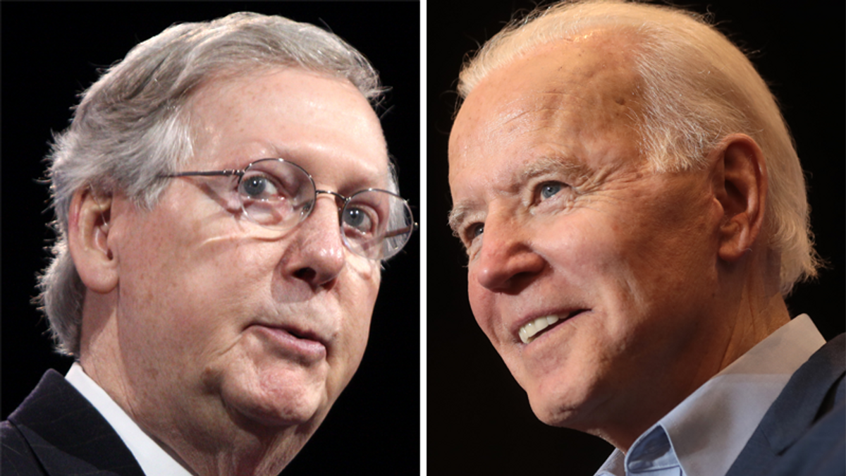 McConnell's 75 days of 'bad faith' attacks on Biden 'ultimately failed': report