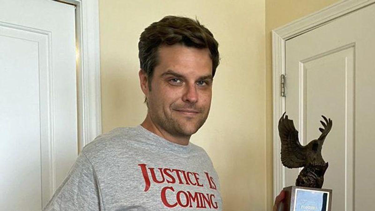 Matt Gaetz is in 'deep, deep trouble': legal experts say the Florida man is 'toast'