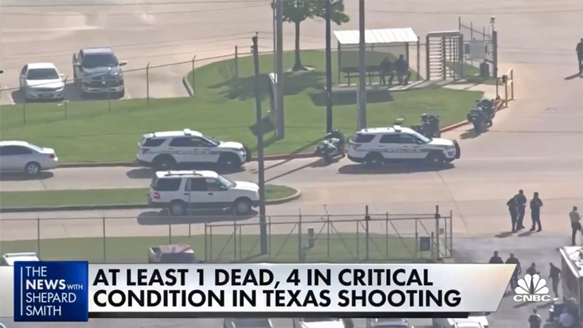 One dead in Texas mass shooting -- on same day Biden released gun control executive orders
