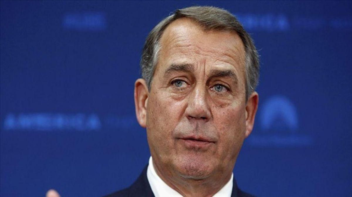 John Boehner throws Tom DeLay under the bus — says Clinton impeachment was a mistake: report