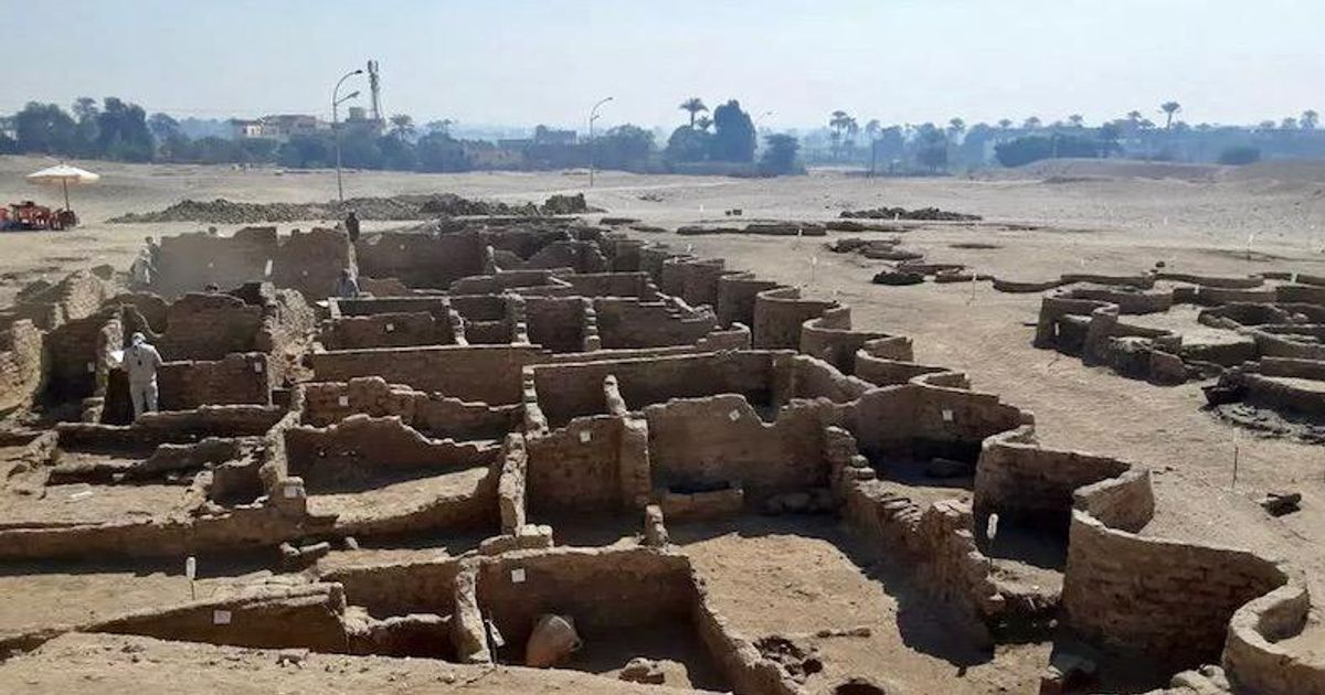 Egyptologists uncover 'lost golden city' buried under the sands