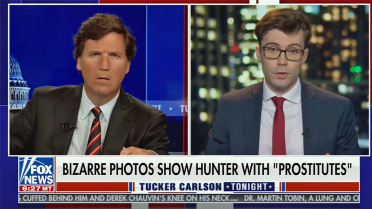 Fox News under fire after egregiously airing explicit images of alleged Hunter Biden sex tape