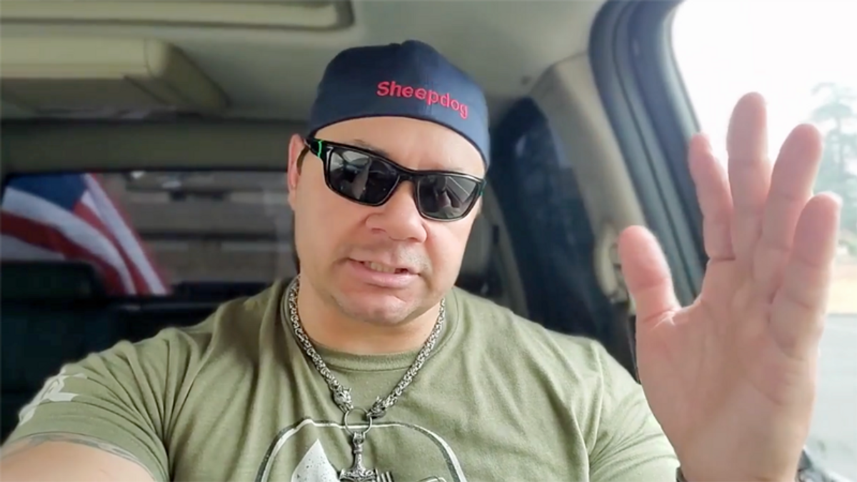 Chief details why fired cop with Proud Boys ties has 'no place in law enforcement'