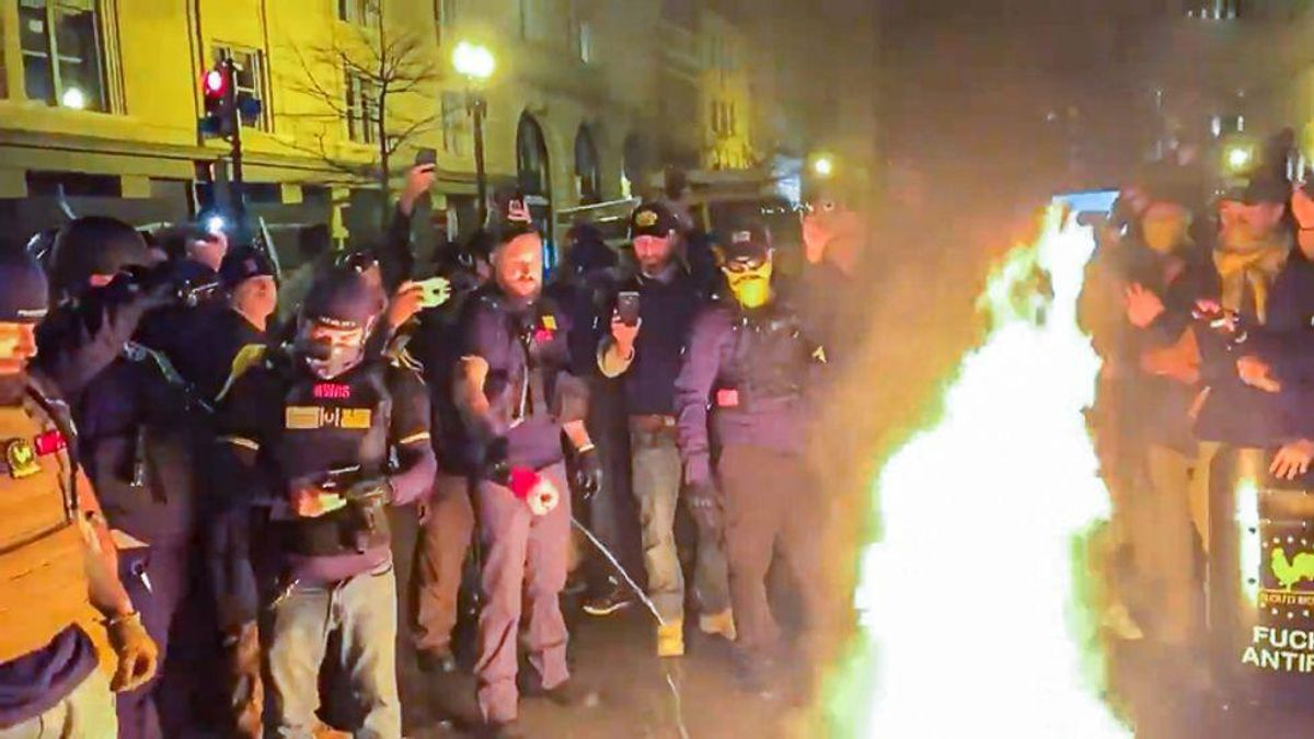 EXCLUSIVE: Leaked chats show Proud Boys integral to planning for 'White Lives Matter' rallies