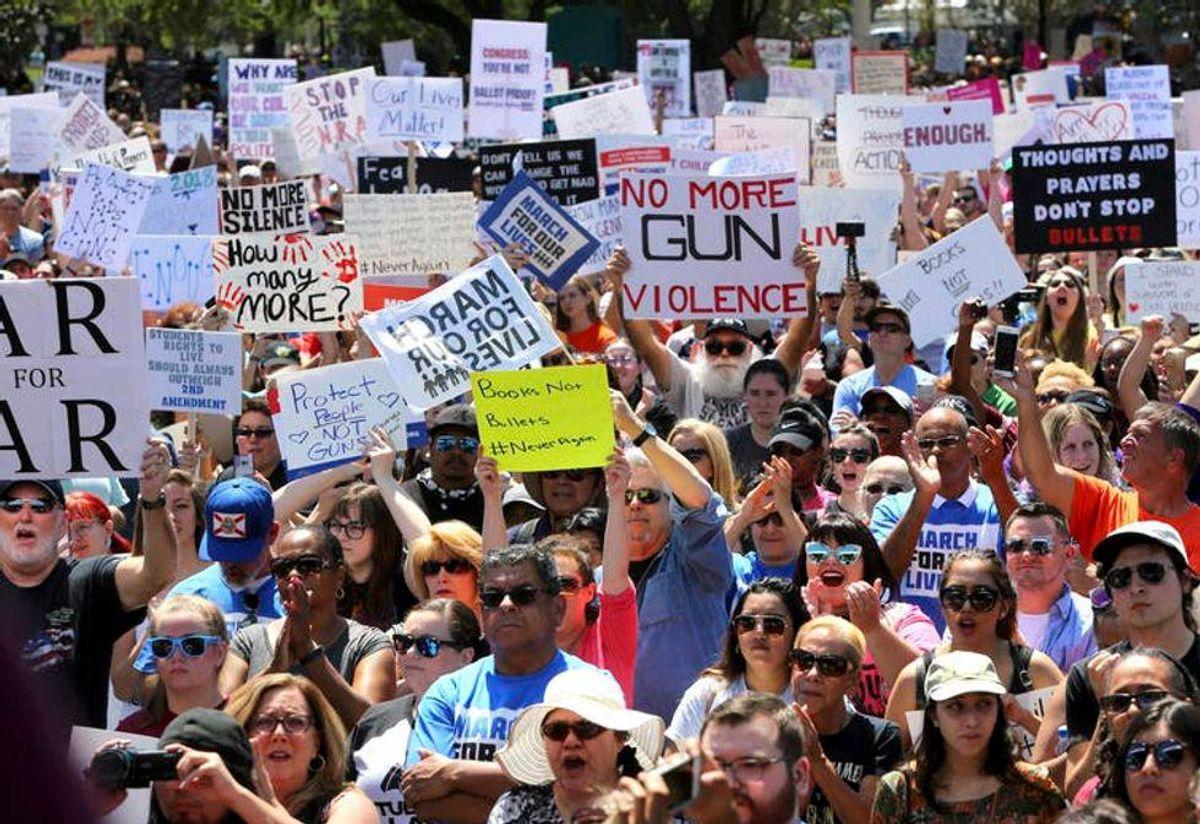 Florida senate advances 'dangerous' bill that could criminalize peaceful protest