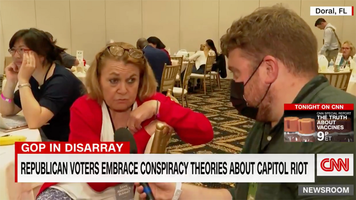 Watch this insane interview with Trump supporter who is clearly divorced from reality
