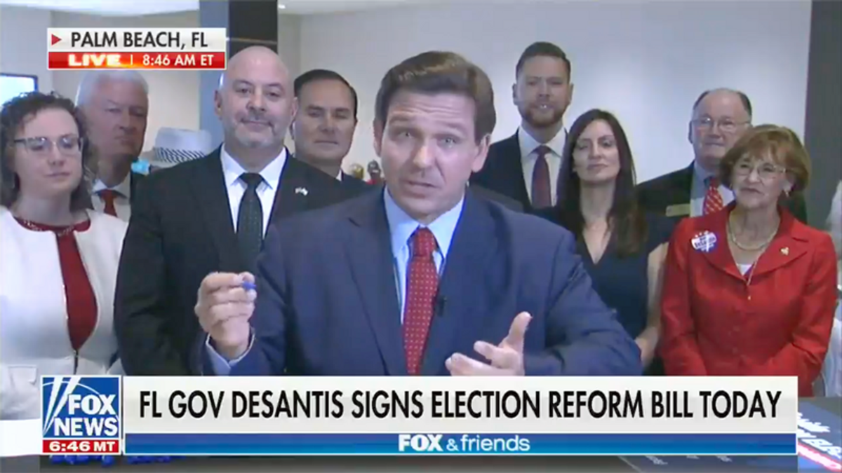 'Shame on Republicans': Ron DeSantis blistered in scorching editorial from Florida newspaper
