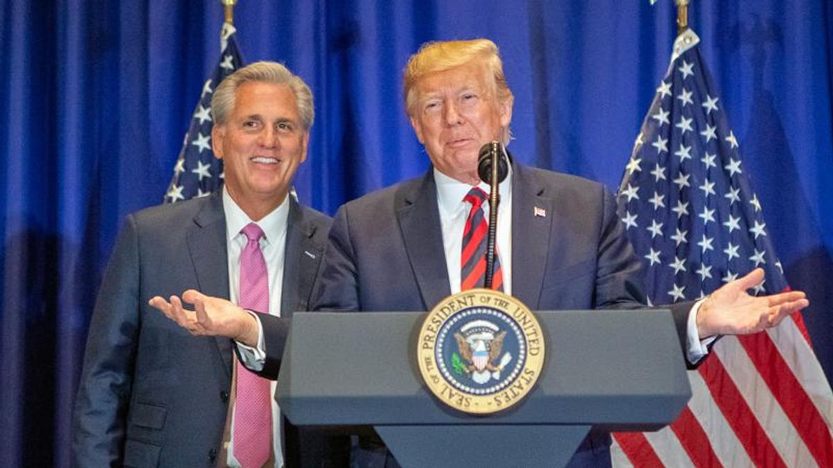 Bullying Kevin McCarthy is working for the GOP's insurrectionist caucus