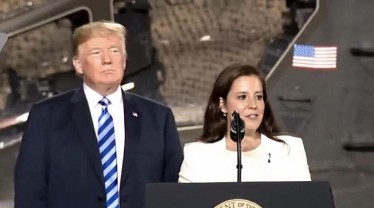GOP House members are 'griping' about Elise Stefanik jumping over them to replace Cheney: report
