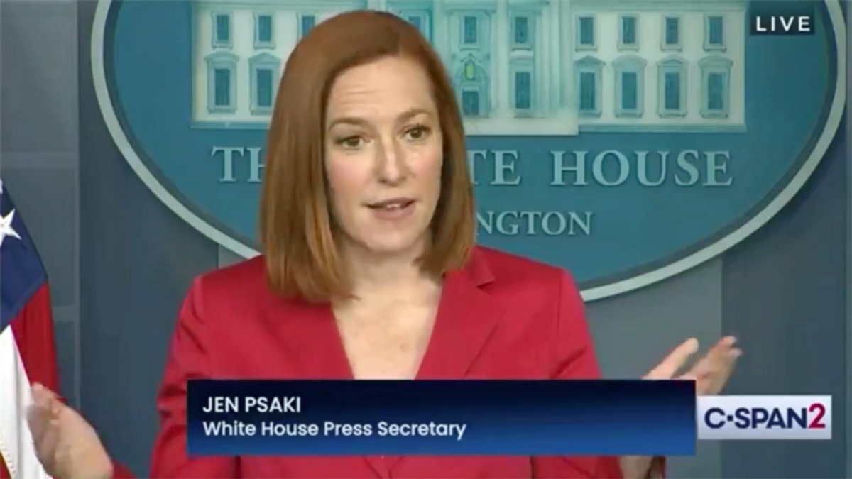 WATCH: Jen Psaki delivers 'a master class in public communications' while shutting down Newsmax