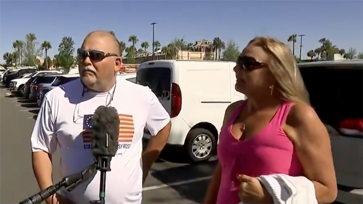 Trump supporter reveals why she believes his election lies: 'I watched it on TV'