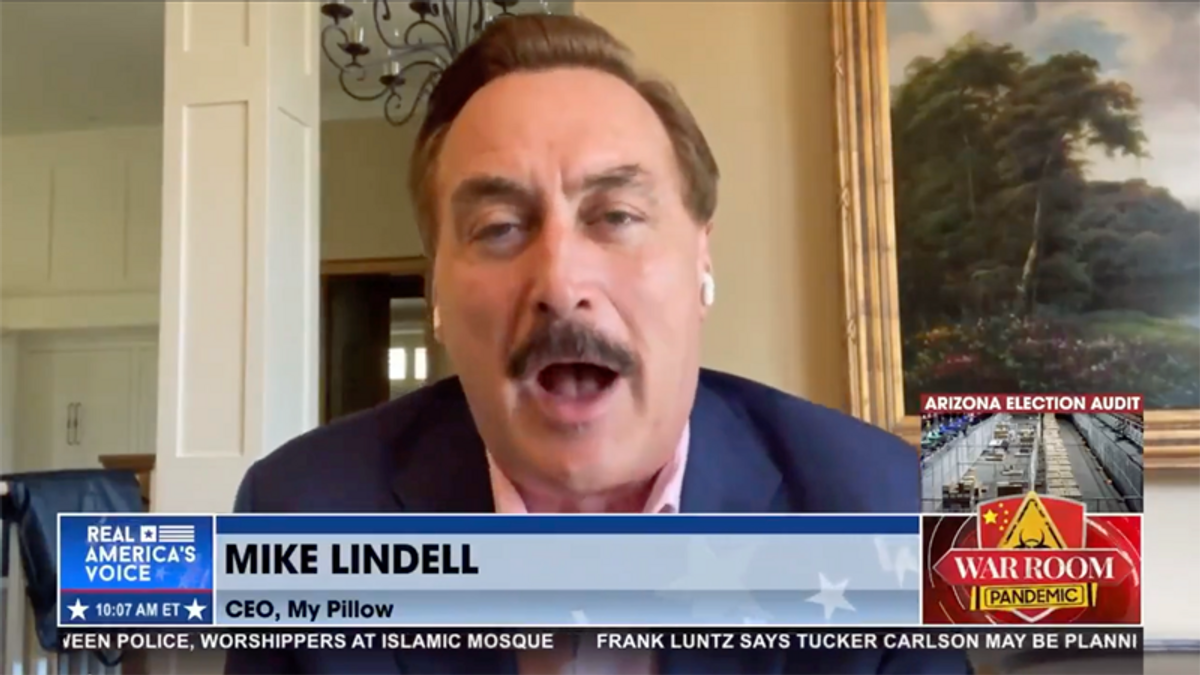 Mike Lindell may be attempting an 'insanity defense' after latest attacks on Dominion: ex-prosecutor