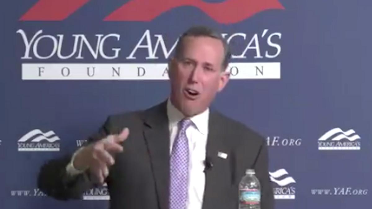 'Racist trash': CNN urged to fire Rick Santorum for 'whitewashing' Native American genocide