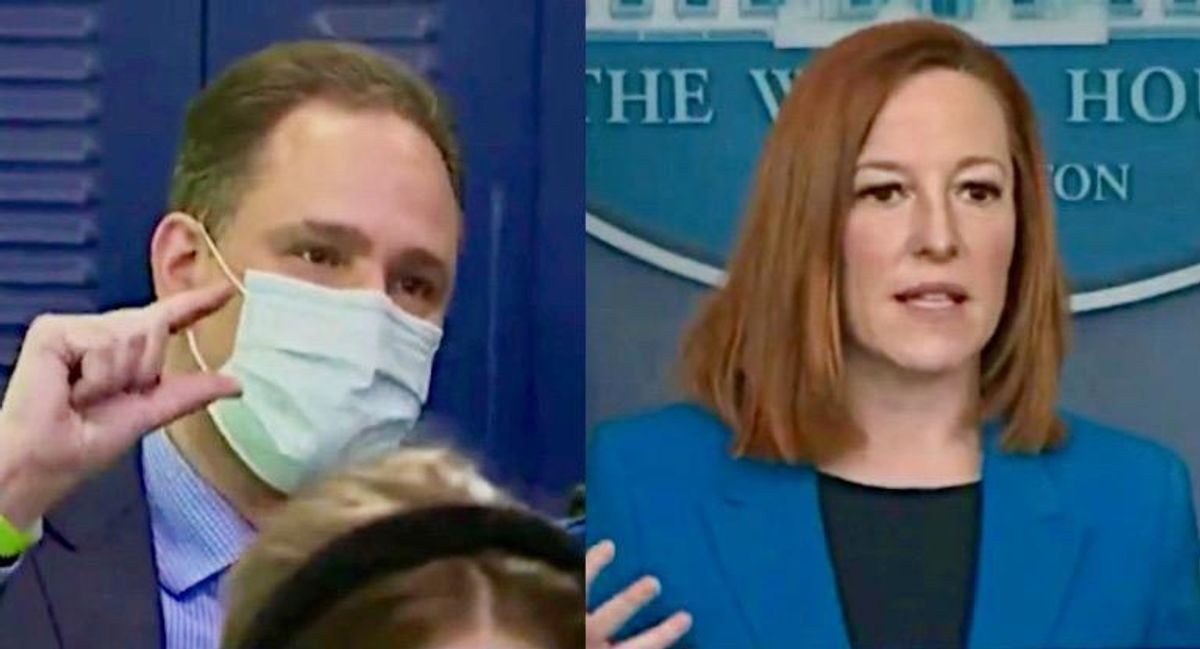 Jen Psaki smacks down CBN reporter who asked what Biden not meeting with House minority leader says 'about unity?'