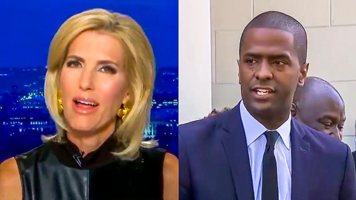 'You never argue with a fool': Bakari Sellers responds after Laura Ingraham insults his 'accent'