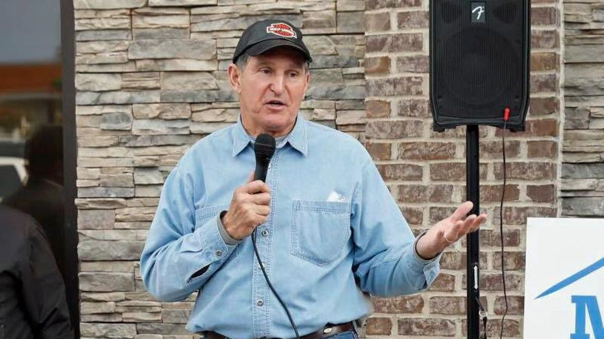 'Letting the terrorists win'? Manchin suggests pro-democracy reform would spark another insurrection