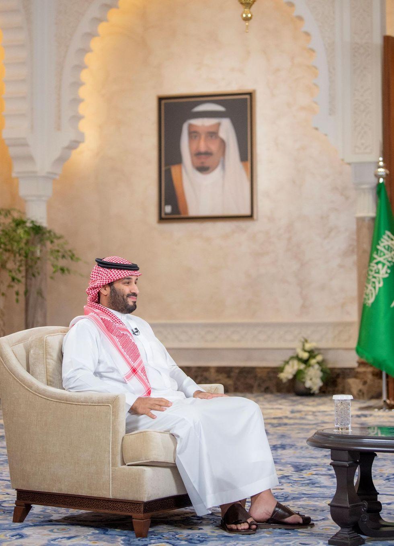 Saudi Arabia seeks positive relations with Iran, crown prince says