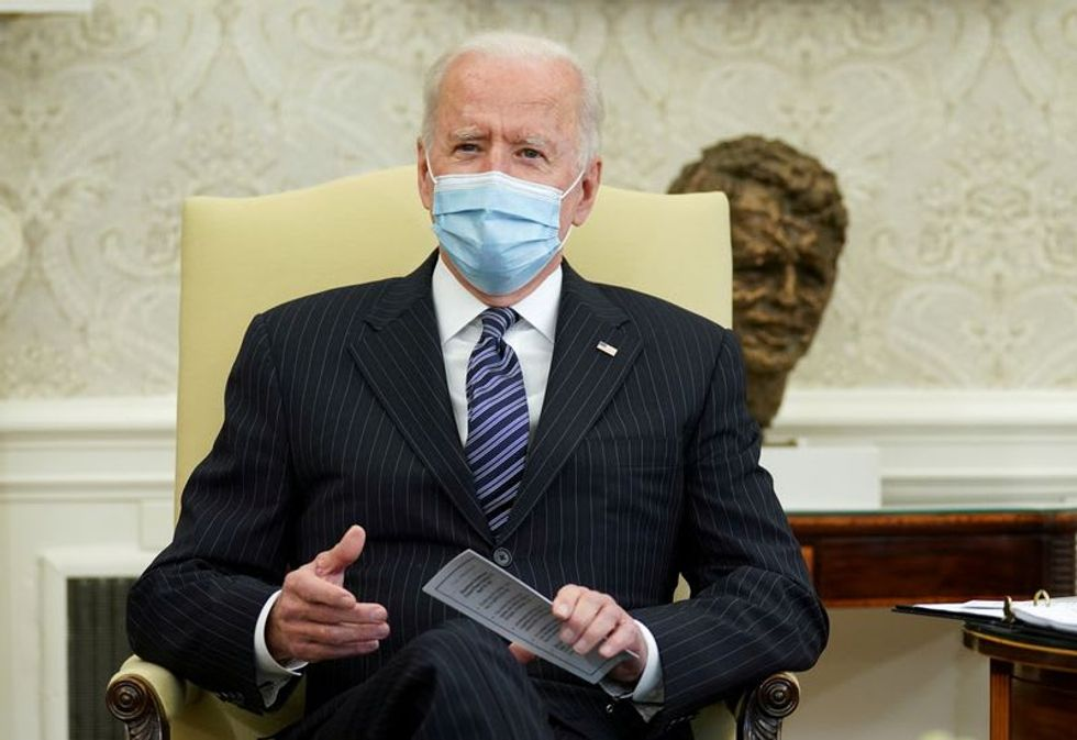 Masks, distanced applause: Small crowd planned for Biden's first speech to Congress