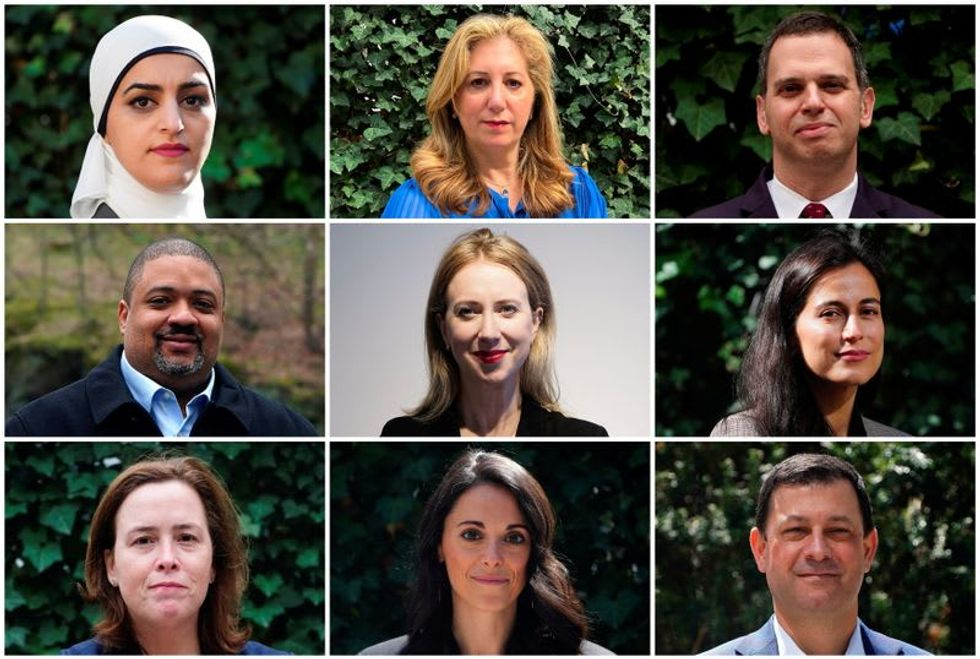 Race, crime, Trump loom over vote for Manhattan's top prosecutor
