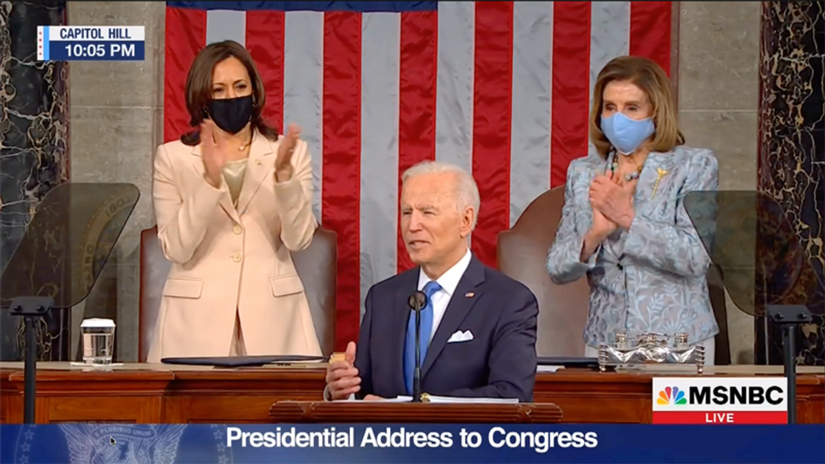 Joe Biden turns the tables on Republicans during national address