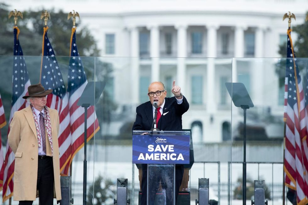 Rudy Giuliani claims 'crooked' feds raided his NYC home because they're 'jealous' of him