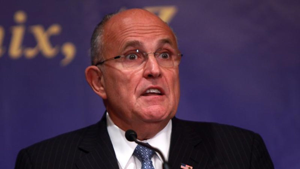 Giuliani claims Bill Barr approved search warrant on him — during Trump's impeachment