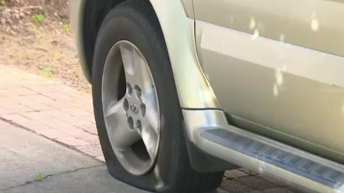 Tires slashed as vandals target supporters of Black Lives Matter: report