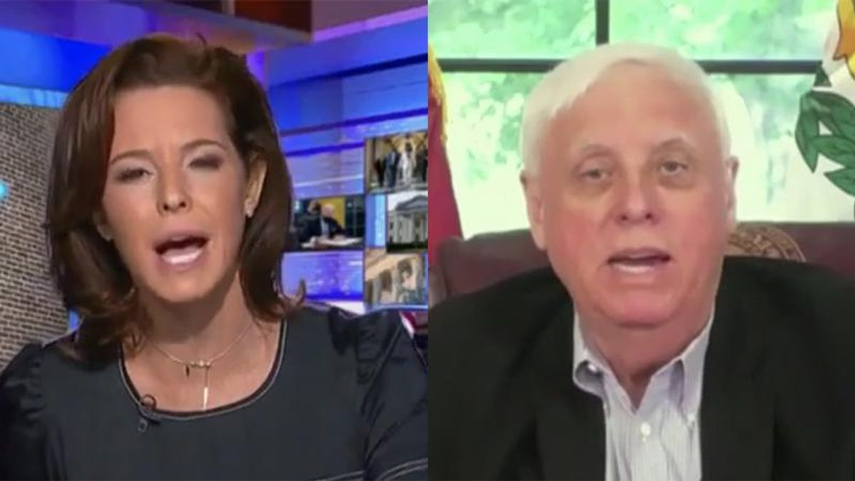 MSNBC's Ruhle explodes on West Virginia's GOP governor as he struggles to defend signing anti-trans bill