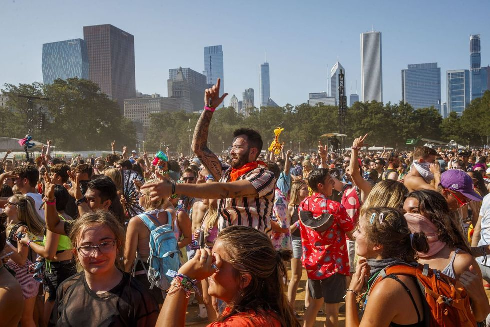 What would a Lollapalooza at 25% capacity be like?