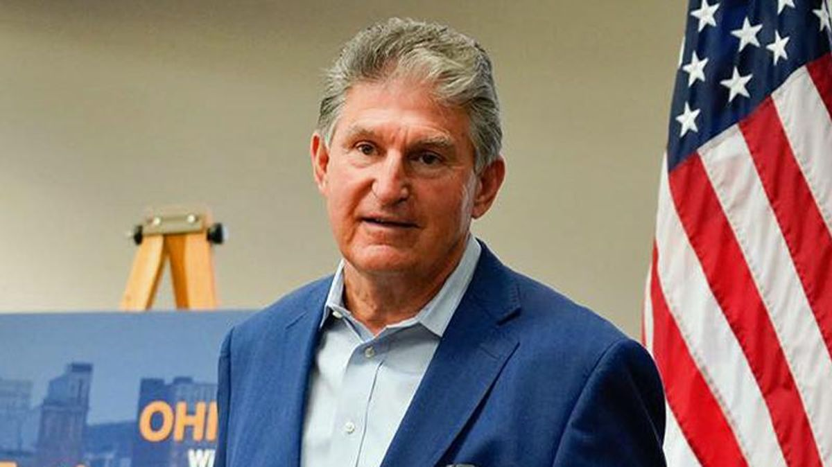 Joe Manchin comes out against DC statehood -- and people are livid