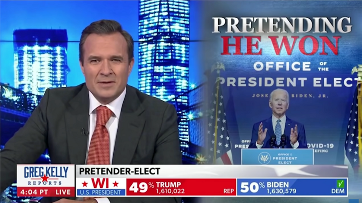 Newsmax blasted after apologizing for broadcasting Trump's voter fraud lies