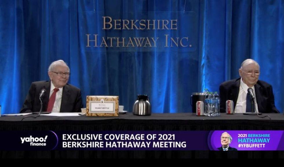 Billionaire Warren Buffett says U.S. economy's unexpected strength benefits his conglomerate