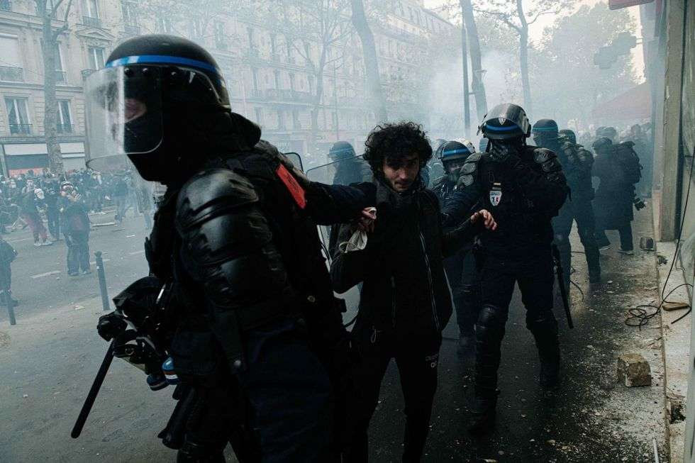 Thousands in France join May Day demonstrations