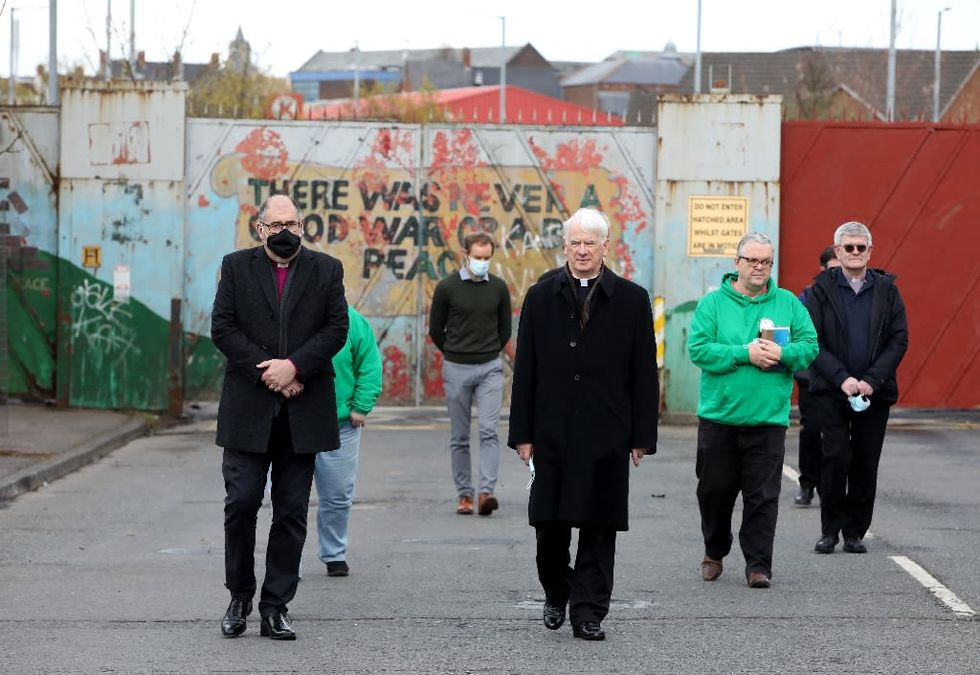 Northern Ireland marks 100 years, divided