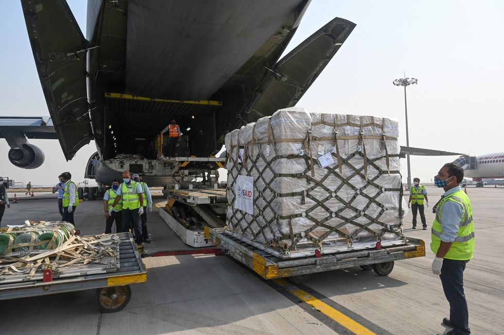 US flying transport planes with supplies to COVID-stricken India, Biden security official says
