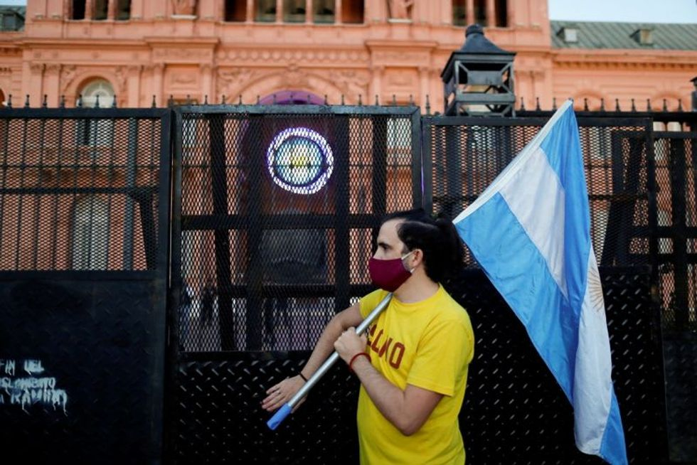 Virus, poverty and vaccines: Argentina's Peronists face storm in election year
