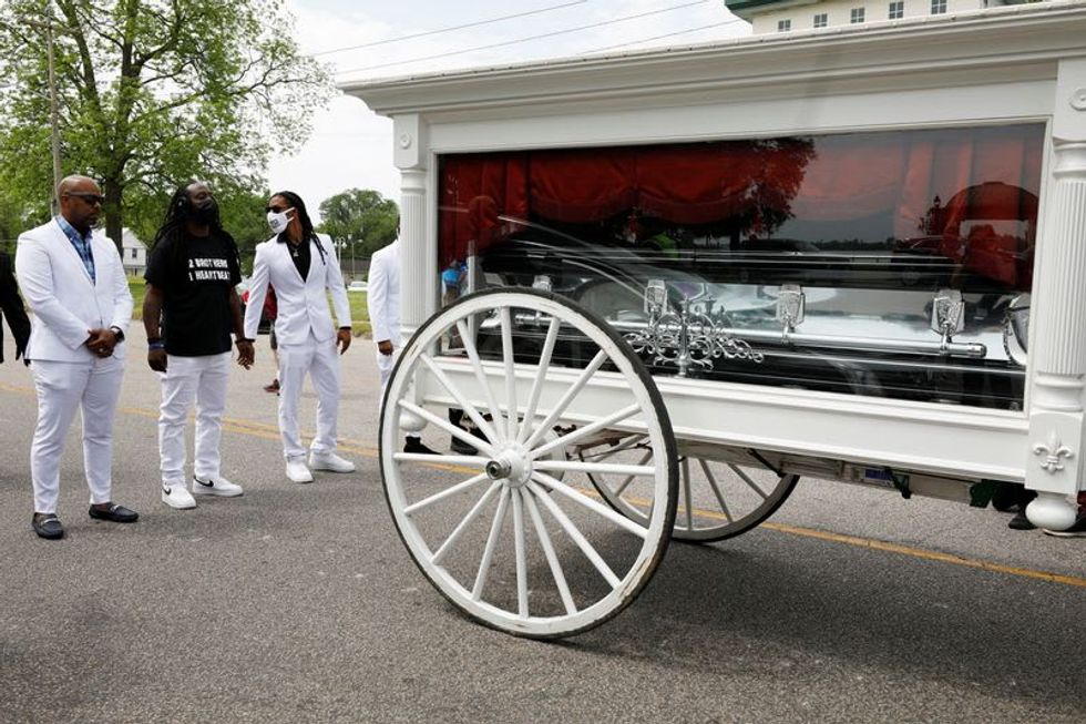 Mourners demand reform at North Carolina funeral of Black man shot dead by police