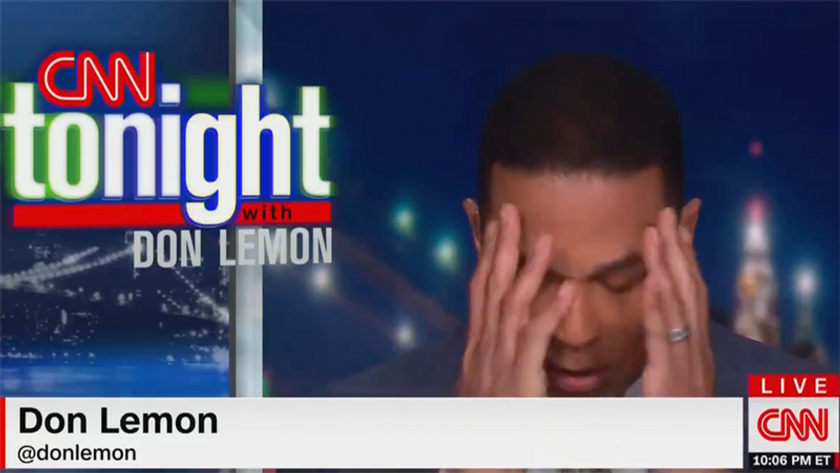 Don Lemon is fed up with racist CNN contributor Rick Santorum: 'People are tired of being insulted'
