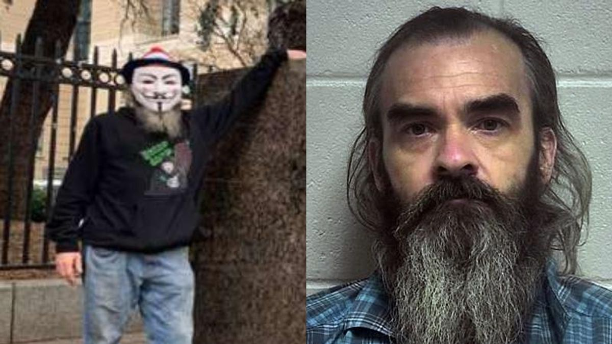 Guy Fawkes impersonator busted for Capitol riot: 'They didn't try to stop us like they should have'