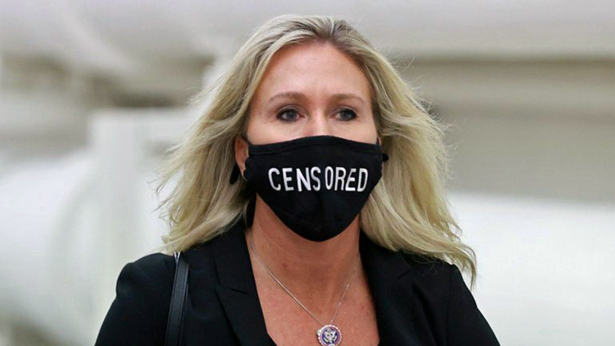 QAnon congresswoman calls for pause before choosing who will replace Liz Cheney