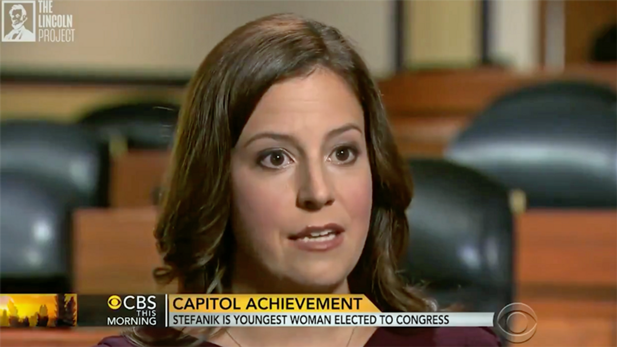 Elise Stefanik's former persona dogs her far-right bid to take over GOP Conference