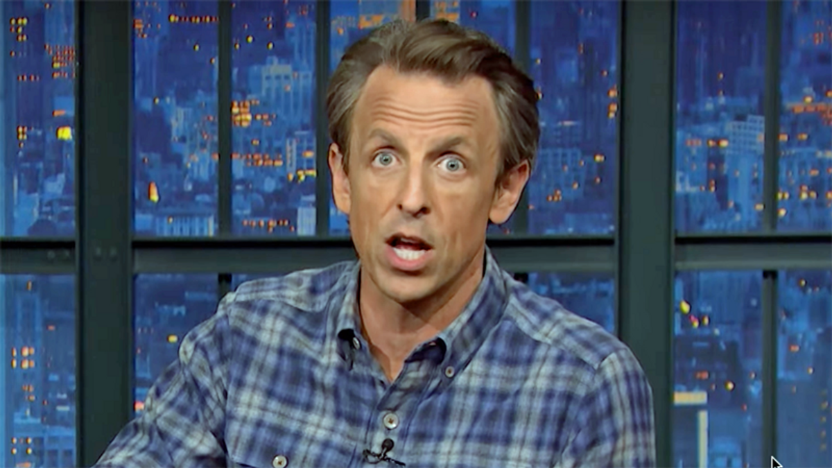 Seth Meyers is baffled the GOP treats Trump as a 'good luck charm' after losing White House and Congress